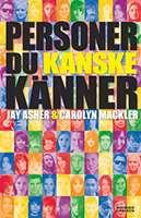 """Omslagsbild till boken """"Personer du kanske känner""""."""