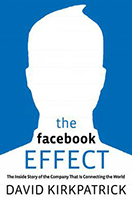 "Omslagsbild till boken ""The Facebook Effect""."