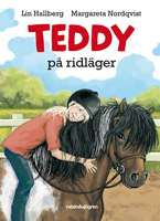 Omslagsbild till Teddy på ridläger.