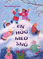 """Omslagsbild till boken """"En hög med snö""""."""