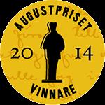 Vinnarmedalj Augustpriset 2014. Källa: Augustprisets webbplats