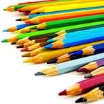 Färgpennor. Foto: Gabriela González, stock.xchng