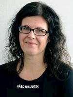 Ulrika Danielsson, bibliotekarie Håbo bibliotek
