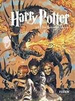 Omslagsbild till Harry Potter och den flammande bägaren.