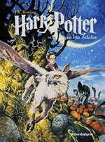 Omslagsbild till Harry Potter och fången från Azkaban.