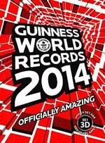 Omslagsbild till Guinness rekordbok.