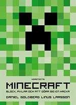Omslagsbild till boken Minecraft: block, pixlar och att göra sig en hacka.