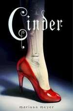 Omslagsbild till Cinder.