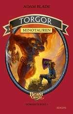 Omslagsbild till Torgor minotauren.