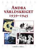 Omslagsbild till andra världskriget 1939-1945.