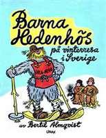 Omslagsbild till Barna Hedenhös på vinterresa i Sverige.