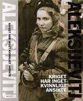Omslagsbild till Kriget har inget kvinnligt ansikte.