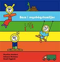 Omslagsbild till boken Barn i regnbågsfamiljer.