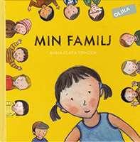 Omslagsbild till boken Min familj.