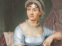 Målning av Jane Austen. Bildkälla: Wikimedia Commons