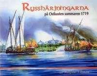 Omslagsbild till Rysshärjningar på Ostkusten 1719.