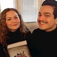 Alexander D. Letics och Viktoria Levine. Foto: Charlotte Tiderman
