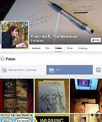 Fredrikas Facebooksida.