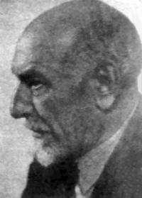 Luigi Pirandello. Fotografía tomada de la Revista la Nacion (Bilden licensierad under Public domain via Wikimedia Commons)