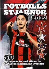 Omslagsbild till Fotbollsstjärnor 2012.