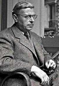 Jean-Paul Sartre. Bildkälla: Archivo del Diario Clarín (Bilden licensierad under Public domain via Wikimedia Commons)