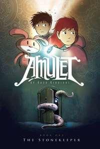 Omslagsbild till Amulett stenväktaren.