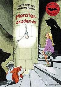 Omslagsbild till Nelly Rapp - Monsterakademin.