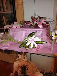Blommor gjorda av socker