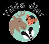 Bild med texten Vilda djur