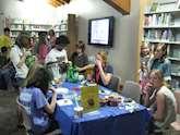 Barnaktivitet på biblioteket