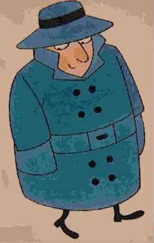 Bild på spion från Spionboken