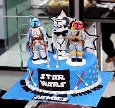 Star Warstårta.
