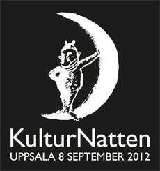 Logotyp för Kulturnatten den 8 september 2012.