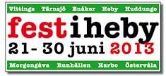 Fest i Heby 2013 logotype