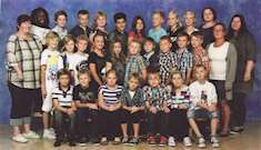 Klassfoto klass 4 A, Heby skola 2012