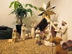 Abrahams barn julkrubba