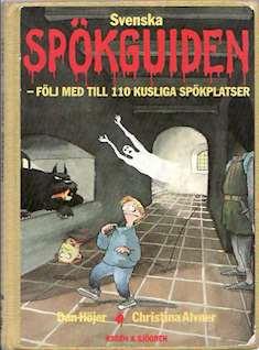 Svenska spökguiden, bokomslag