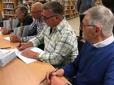 Författarna till boken Upplandsbodarna