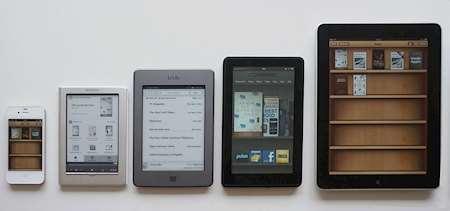 Olika sätt att läsa e-böcker