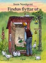 Omslagsbild till Findus flyttar ut.
