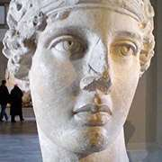 Byst av Sapfo. Foto: P. Vasiliadis/Wikimedia Commons