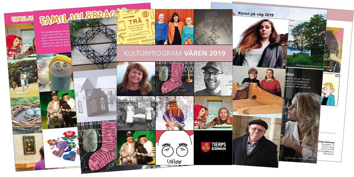 Färgglada sidor ur vårens kulturprogram