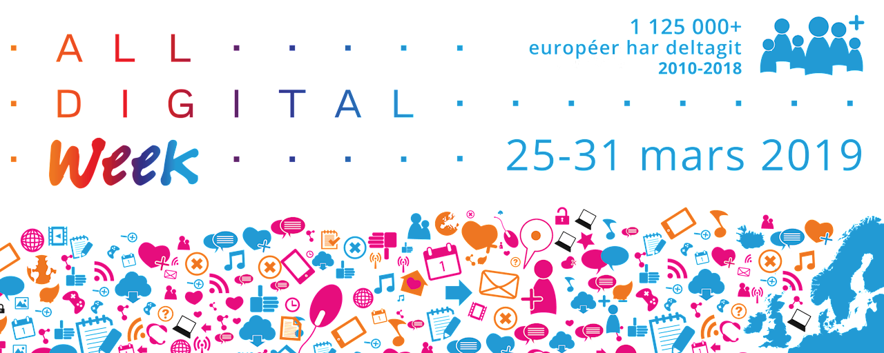 Digitala veckan 25-31 mars 2019
