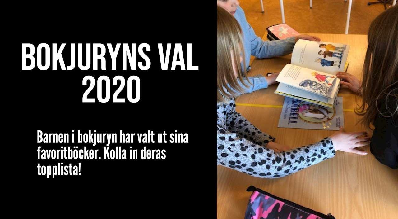 Bokjuryn 2020, barn med böcker