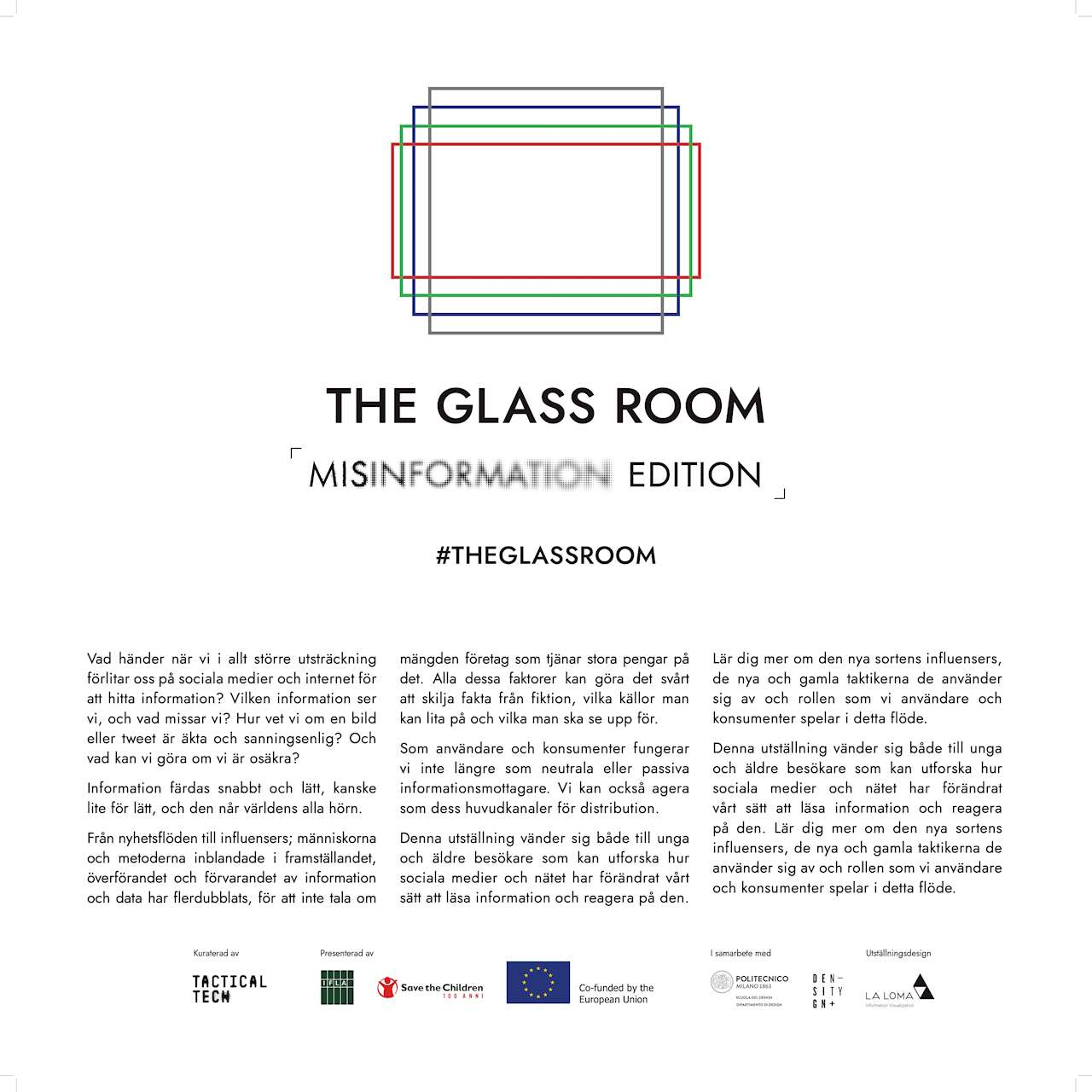 intro till the glass room misinformation edition
